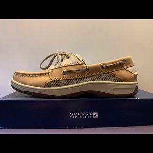 Sperry Men's Billfish 3-eye boat shoe, sz 8